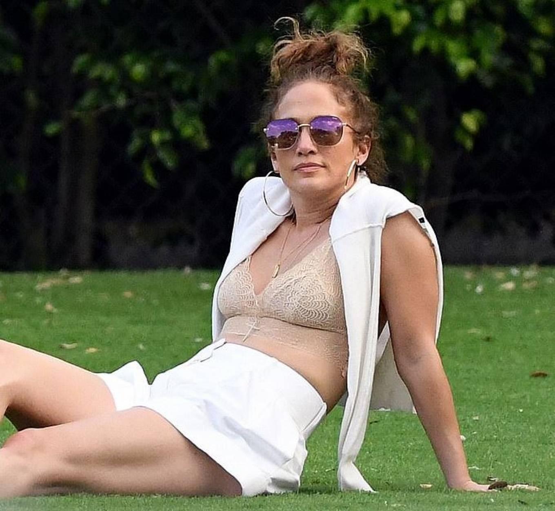 Jennifer Lopez - Pictured at Alex Rodriguez's Daughter's Twelfth Birthday