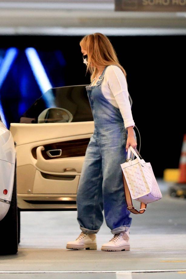 Jennifer Lopez  - Seen out in LA