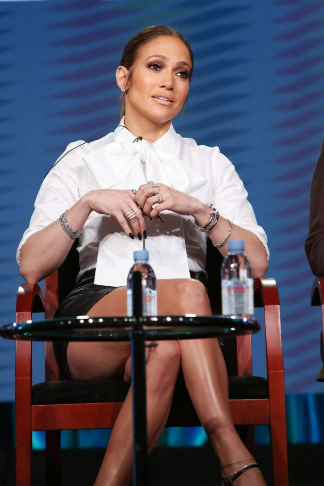 Jennifer Lopez - 'Shades of Blue' Panel at TCA Winter Press Tour 2017 in Pasadena