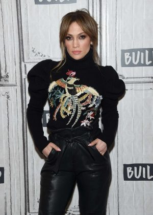 Jennifer Lopez - 'Shades Of Blue' Presents at AOL Build Studio in NY