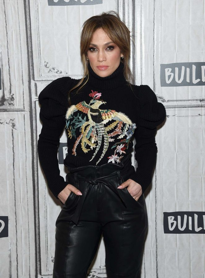 Jennifer Lopez – 'Shades Of Blue' Presents at AOL Build Studio in NY