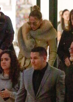 Jennifer Lopez - Shopping at Barney's New York in LA
