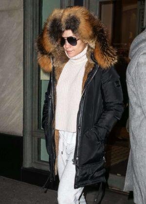 Jennifer Lopez - Shopping at Hermes in New York