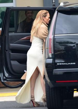 Jennifer Lopez - Soundcheck for the Billboard Latin Music Awards in Miami