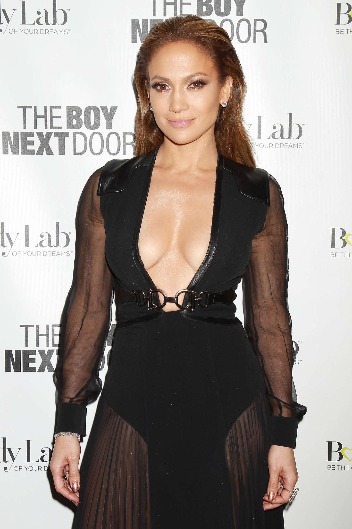 """Jennifer Lopez - """"The Boy Next Door"""" Special Fan Screening in NY"""