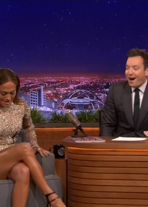 Jennifer Lopez - The Tonight Show starring Jimmy Fallon in LA