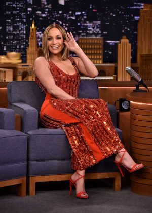 Jennifer Lopez - 'The Tonight Show Starring Jimmy Fallon' in NYC