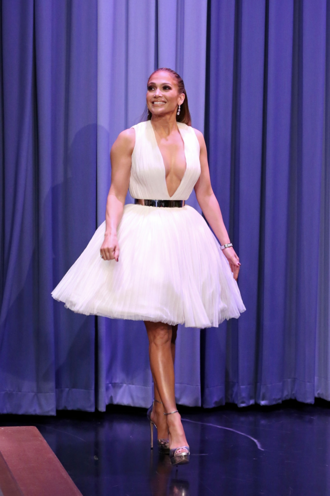 Jennifer Lopez - 'The Tonight Show Starring Jimmy Fallon' in NYC