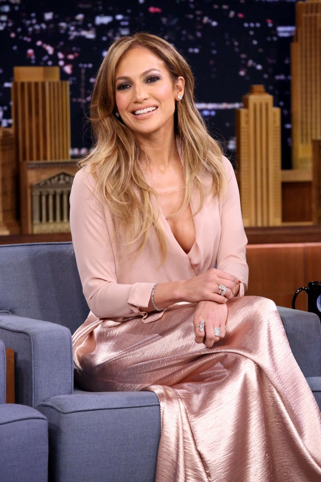 Jennifer Lopez - The Tonight Show With Jimmy Fallon in NYC