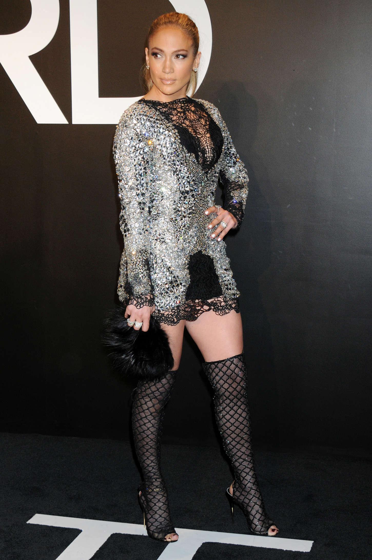 64302f048cf Jennifer Lopez  Tom Ford 2015 Womenswear Collection Presentation -20 ...