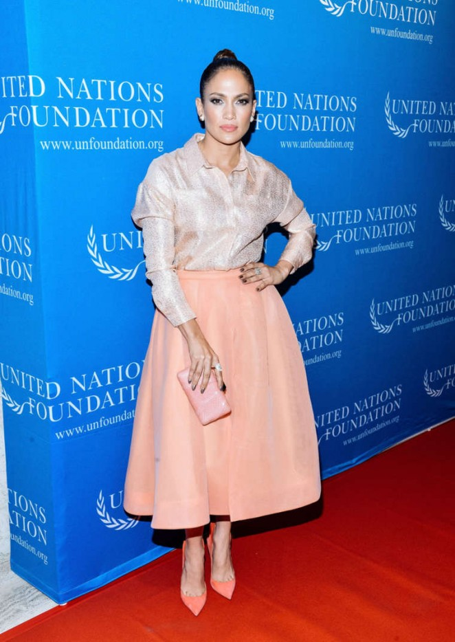 Jennifer Lopez - UN Foundation's Gender Equality Discussion in NYC
