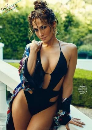Jennifer Lopez - Us Weekly Magazine The Best Bodies 2015