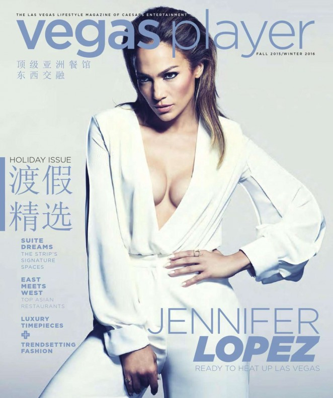 Jennifer Lopez - Vegas Player Magazine (Winter 2015)