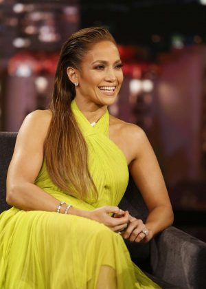Jennifer Lopez - Visits 'Jimmy Kimmel Live!' in Los Angeles