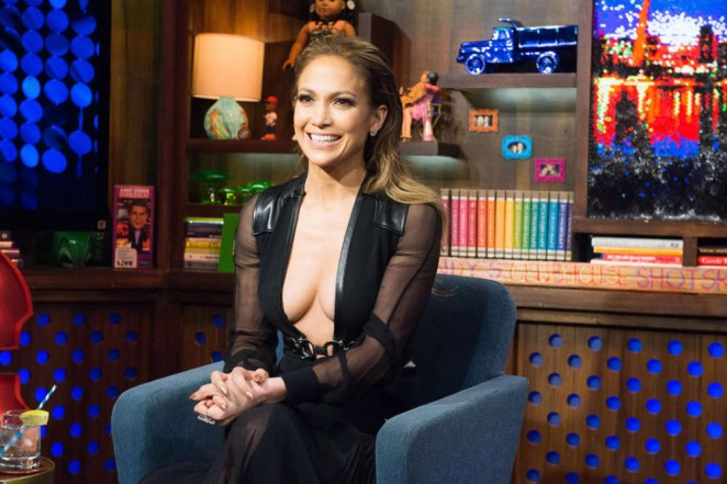 Jennifer Lopez - Watch What Happens Live in NYC