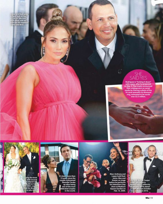Jennifer Lopez - Who Magazine (August 2019)