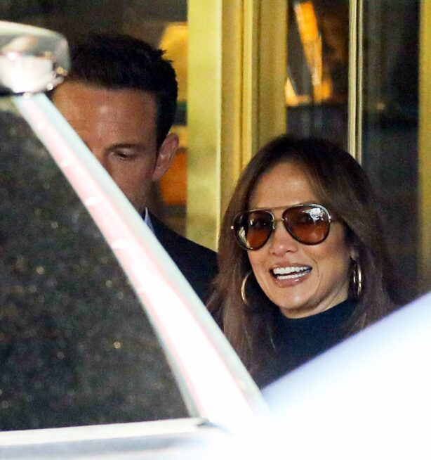 Jennifer Lopez - With Ben Affleck arrive at the premiere for The Tender Bar in West Hollywood