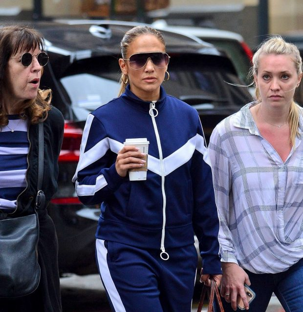 Jennifer Lopez with friends out in New York City -12