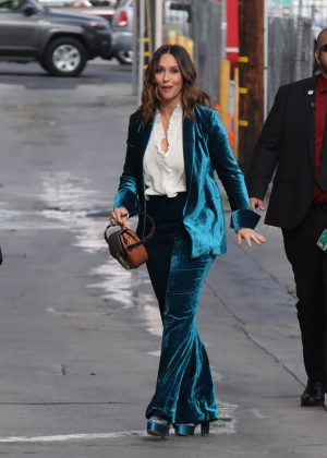 Jennifer Love Hewitt - Arrives at 'Jimmy Kimmel Live' in ...