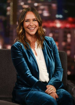 Jennifer Love Hewitt at Jimmy Kimmel Live! in Los Angeles