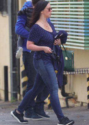 Jennifer Love Hewitt in Jeans - Out in Brentwood