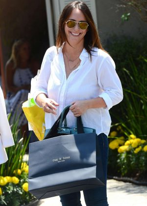 Jennifer Love Hewitt - Instyle Day of Indulgence Party in Los Angeles