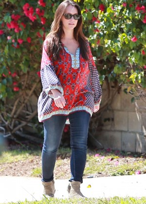 Jennifer Love Hewitt in Jeans out in LA