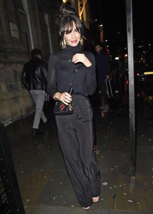 Jennifer Metcalfe - Arriving at Neighboughood bar in Liverpool