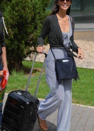 Jennifer Metcalfe - Arriving in Majorca