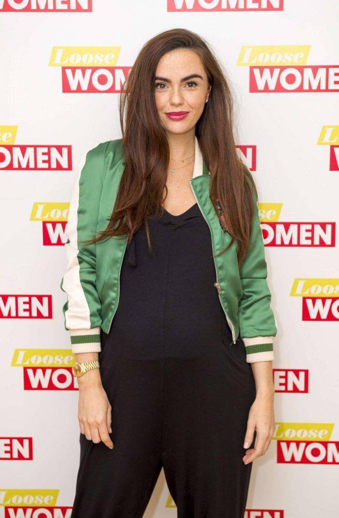 Jennifer Metcalfe at 'Loose Women' TV show in London