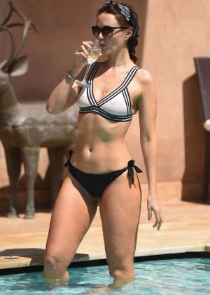 Jennifer Metcalfe in Bikini in Marrakech