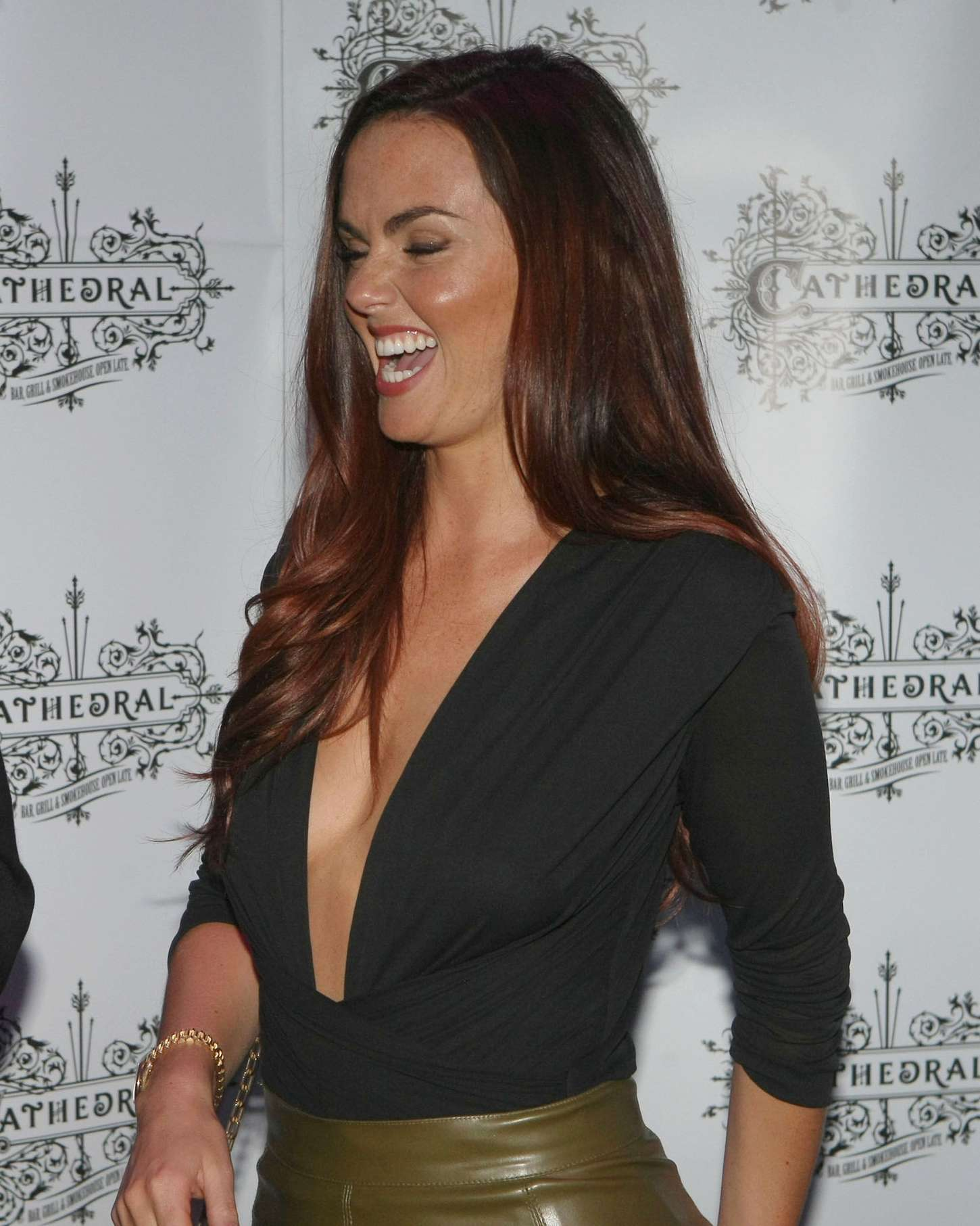 Jennifer Metcalfe - Cathedral Bar & Grill Launch in Kildare