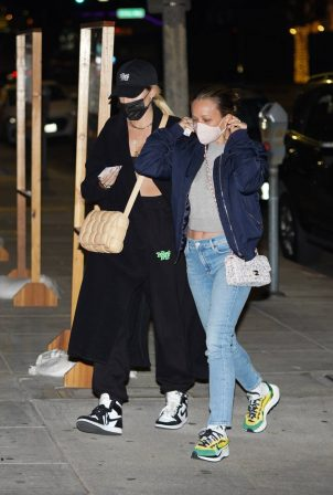 Jennifer Meyer and Maeve Reilly - Out for dinner at Matsuhisa in Beverly Hills