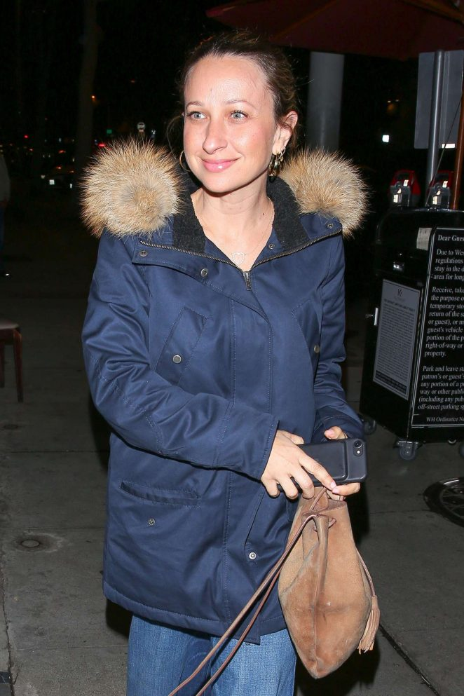 Jennifer Meyer - Arrives for dinner at Craig's Restaurant in West Hollywood