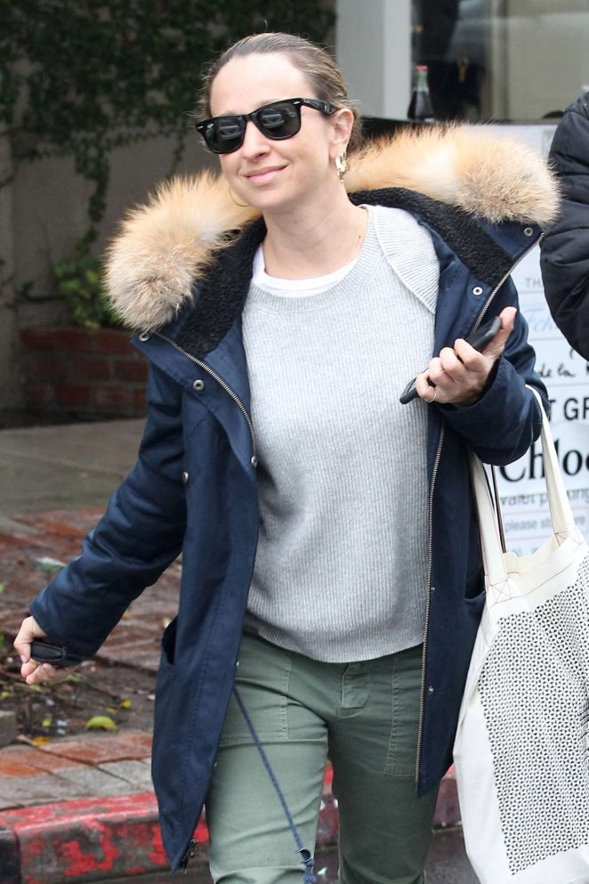 Jennifer Meyer out in Beverly Hills