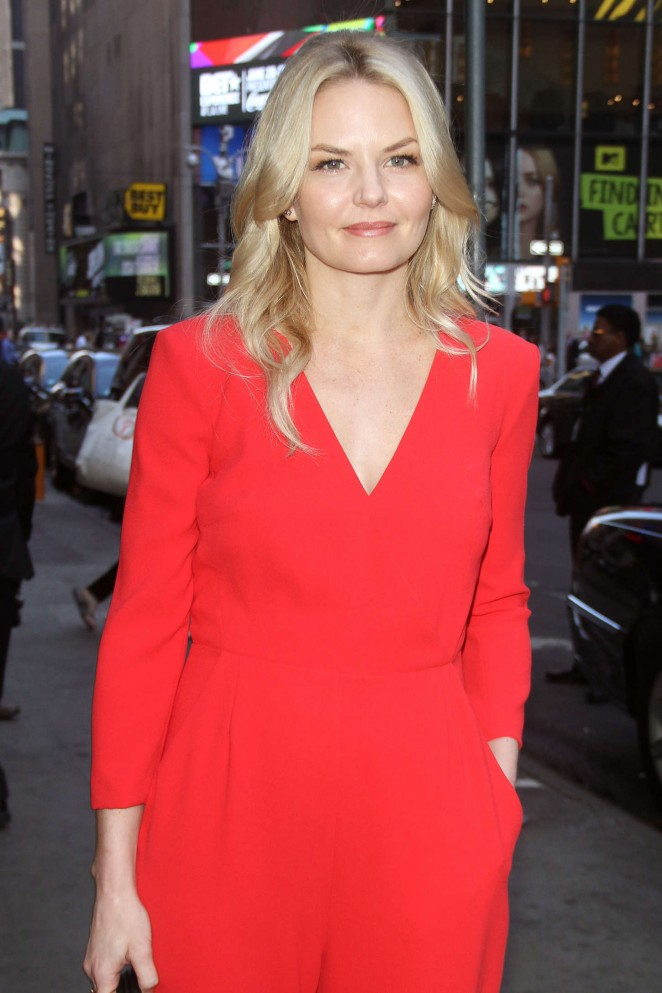 Jennifer Morrison - Arriving at 'Good Morning America' in NYC