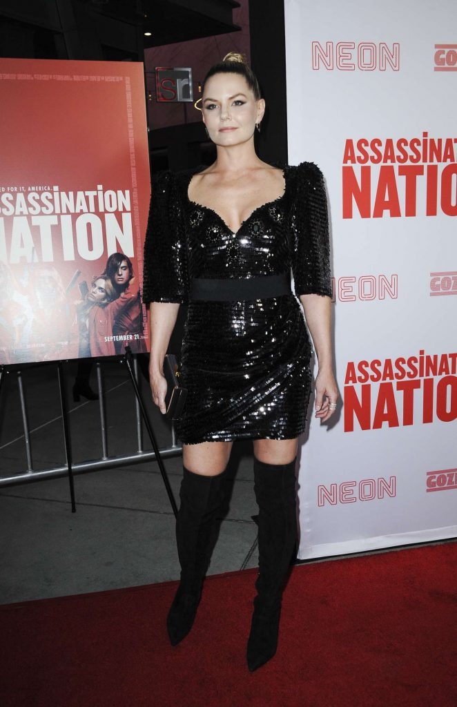 Jennifer Morrison - 'Assassination Nation' Premiere in Los Angeles
