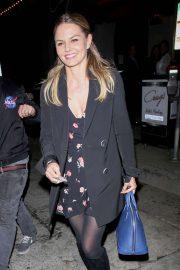 Jennifer Morrison - Enjoys dinner at Craig's in West Hollywood