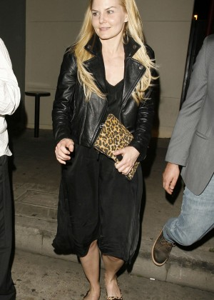Jennifer Morrison - Leaving Craig's in West Hollywood