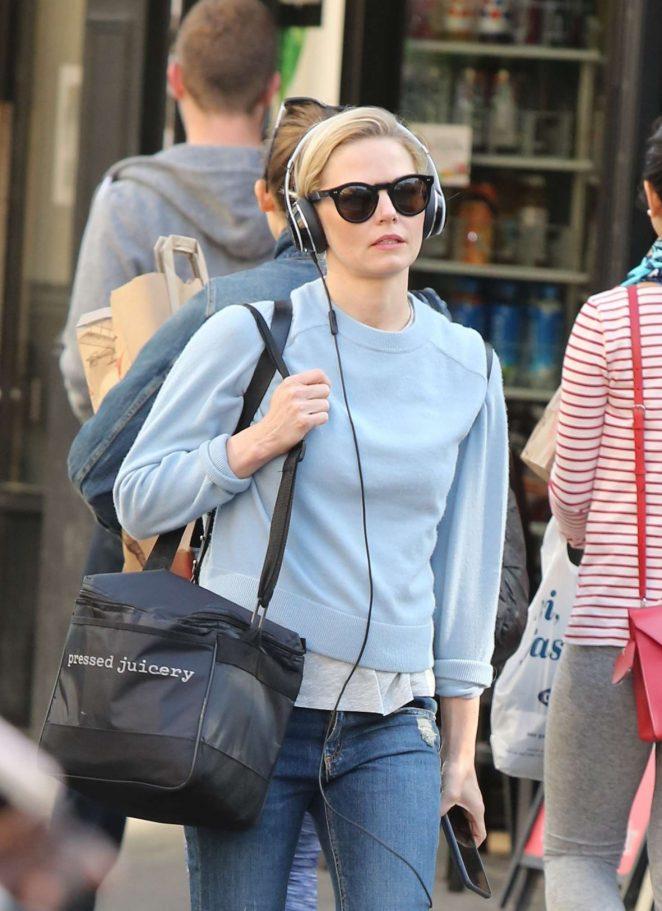 Jennifer Morrison out in Manhattan