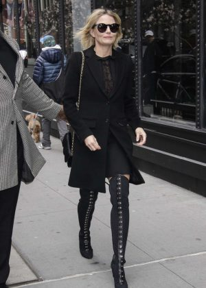 Jennifer Morrison out in New York