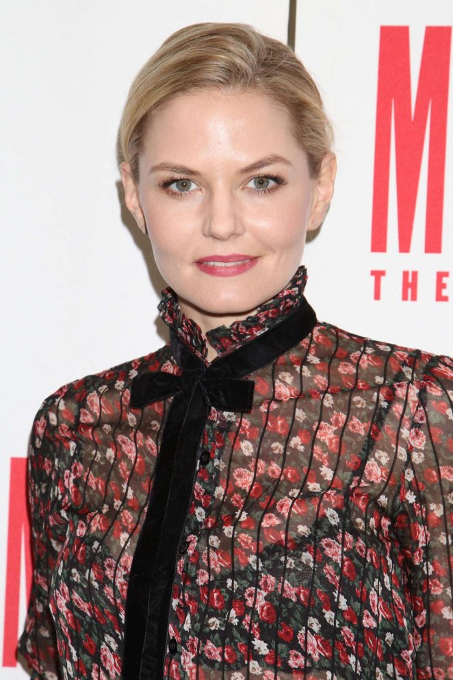 Jennifer Morrison - The End Of Longing media day in New York