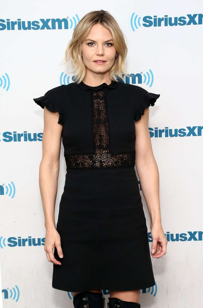 Jennifer Morrison - Visits the SiriusXM studios in New York City