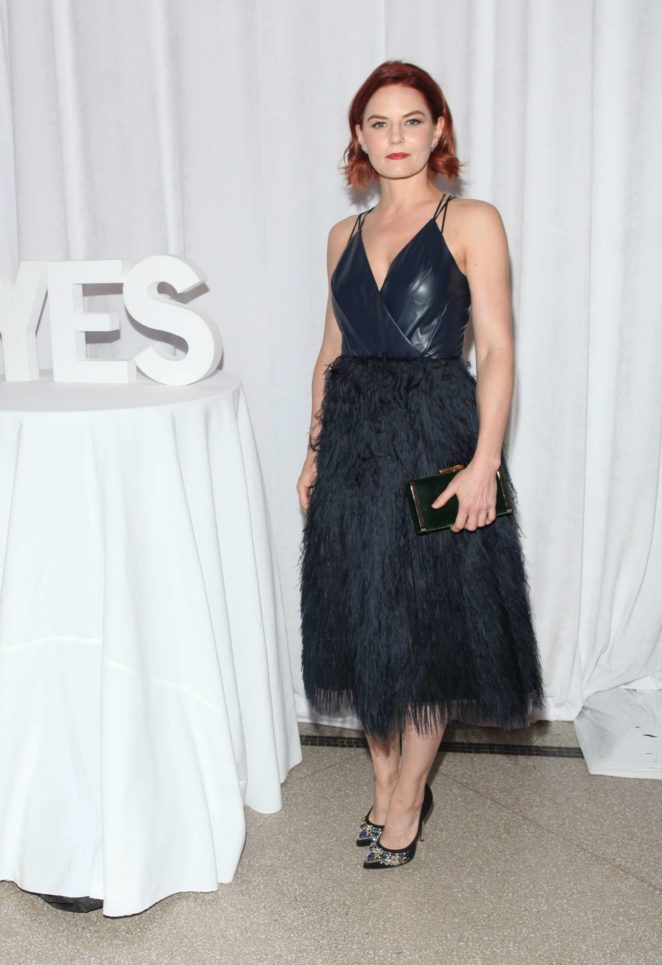 Jennifer Morrison - Yes! Gala at Brooklyn Museum in NYC