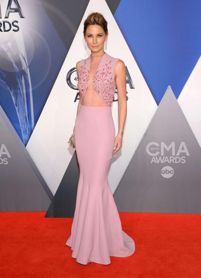 Jennifer Nettles – 49th Annual CMA Awards in Nashville