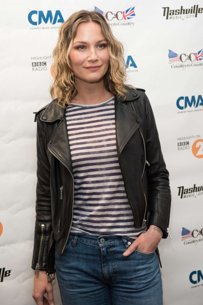 Jennifer Nettles - C2C Country Music Festival at O2 Arena in London