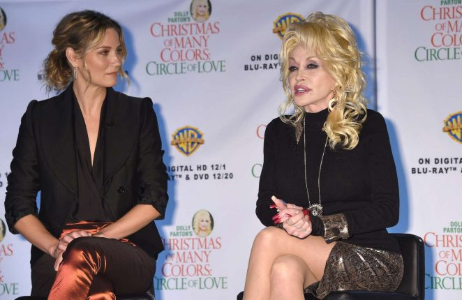 Jennifer Nettles: Christmas of Many Colors: Circle of Love Press Conference -12