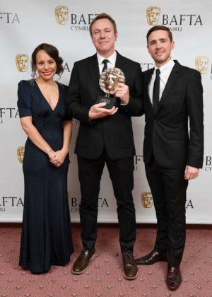 Jennifer Nicholas – BAFTA 2017 in Cardiff