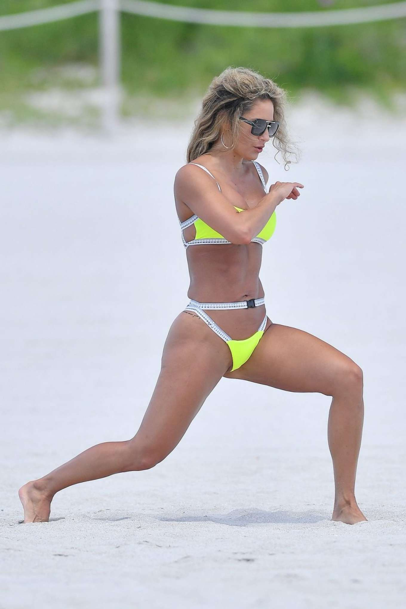 Jennifer Nicole Lee 2019 : Jennifer Nicole Lee in Neon Yellow Bikini 2019-34