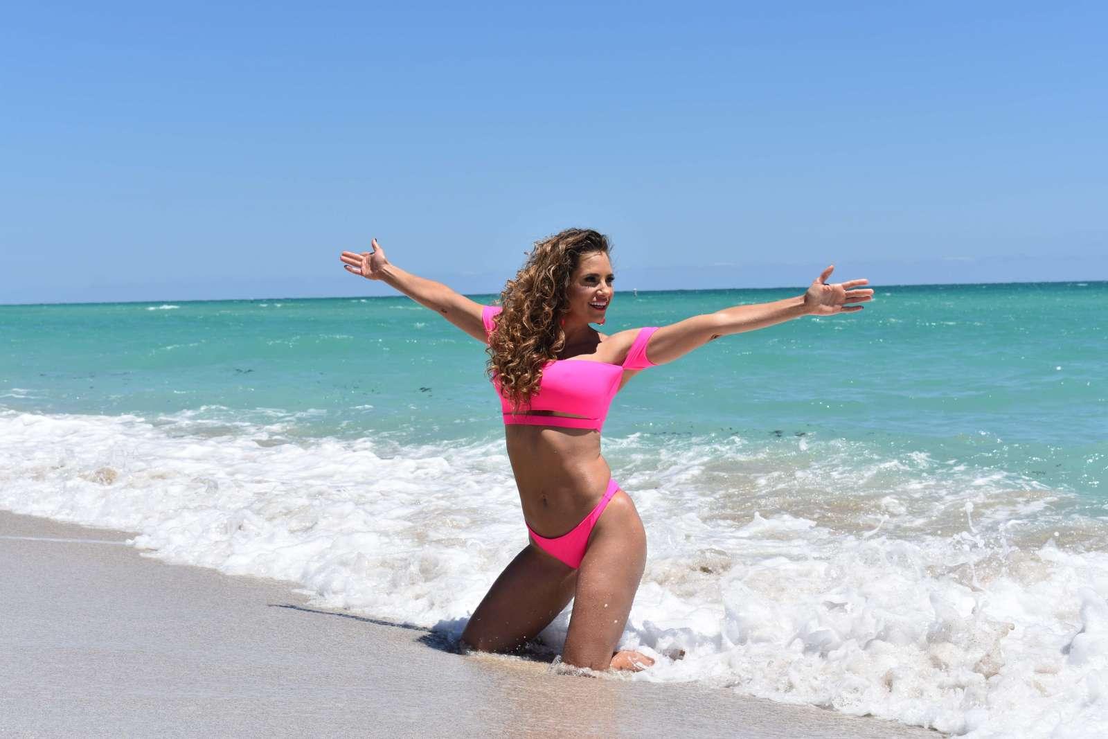 Jennifer Nicole Lee 2018 : Jennifer Nicole Lee in Pink Bikini 2018 -12